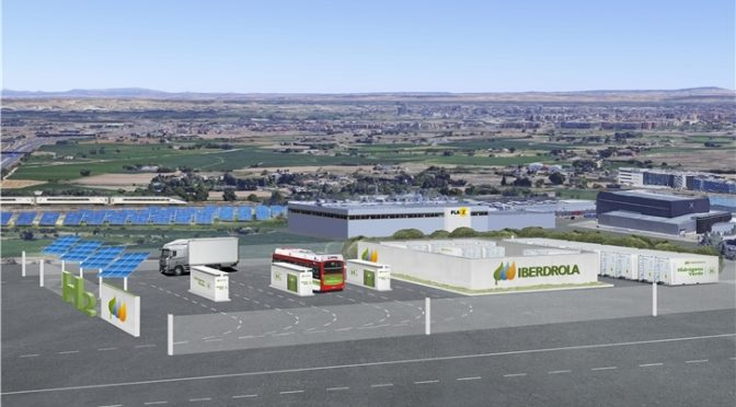 Iberdrola moviliza el primer proyecto para la generación de hidrógeno verde en Aragón
