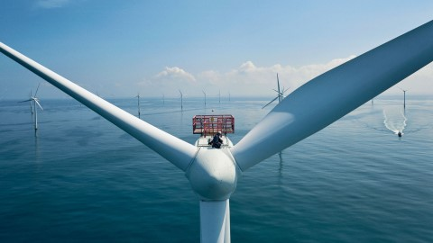 Air Liquide, primer cliente de la central eólica marina Hollandse Kust Zuid