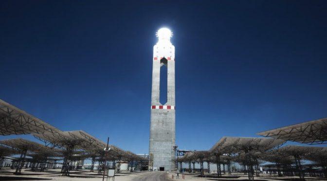 Oferta de termosolar bate récord de precios en licitación eléctrica en Chile con 33,99 dólares por MWh