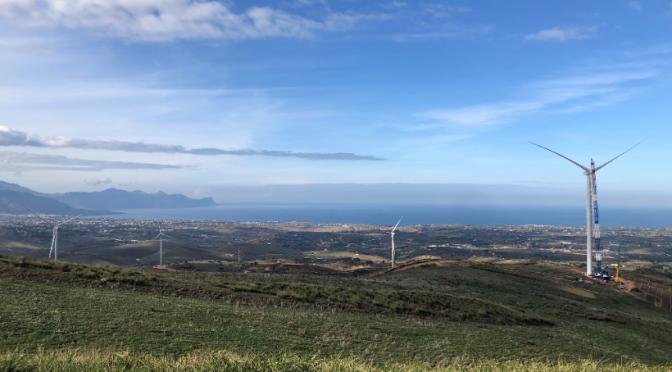 Goldwind implanta su primer proyecto de energía eólica en Italia