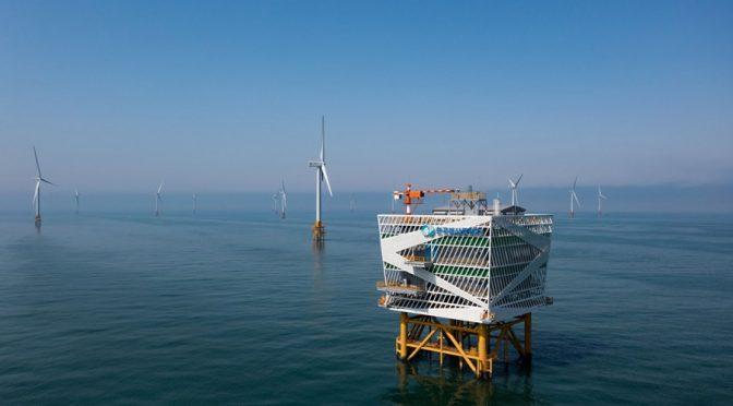 La central de eólica marina más grande del mundo puede ser la respuesta a Corea del Sur