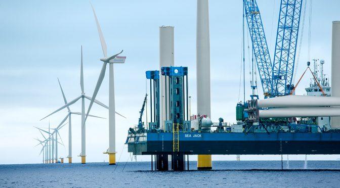 Proyectos gigantes de energía eólica marina se construirán en los mares de Irlanda