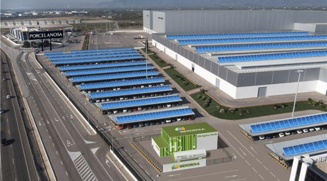 Iberdrola y Porcelanosa abordan la primera solución para electrificar la producción cerámica combinando renovables, hidrógeno verde y bomba de calor