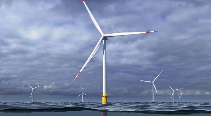 GE presenta el concepto de turbina eólica flotante de 12 MW