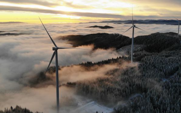 Aerogeneradores de Nordex para la energía eólica en Francia