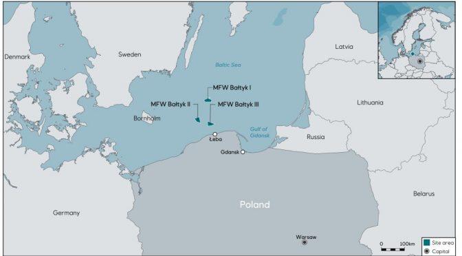 Leba se convertirá en la base de operaciones de proyectos de energía eólica marina polaca en el Mar Báltico