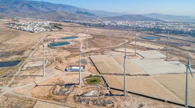 Ecoener continúa creciendo en la eólica de Canarias con la adjudicación del 31% de EOLCAN 2
