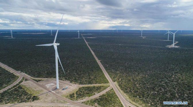 Eólica en Argentina, Parques eólicos de tecnología china comienzan a operar