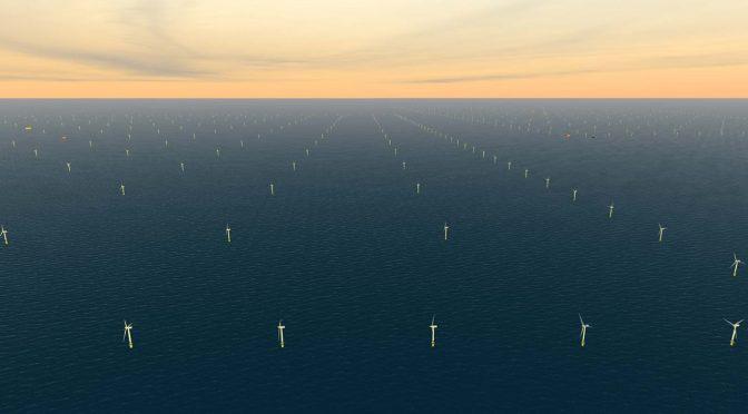 RWE comienza la construcción de su parque eólico marino Sofia en Dogger Bank