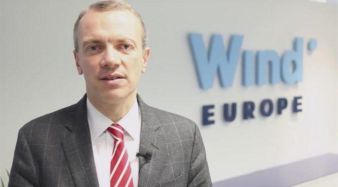 AEE publica una entrevista con el Director General de WindEurope, Giles Dickson Fuente: Noticias Medio Ambiente