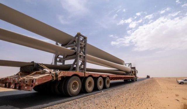 Primera planta de energía eólica de Sudán