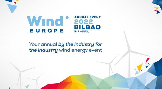 El Evento Anual de la Eólica WindEurope vuelve a Bilbao en 2022