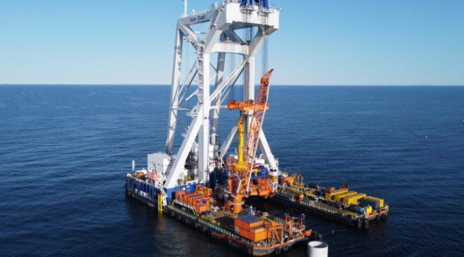 Iberdrola concede a Van Oord la instalación de las cimentaciones de la eólica Baltic Eagle