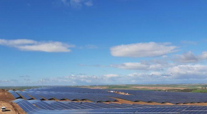 Iberdrola pone en marcha su primera planta fotovoltaica en Castilla-La Mancha