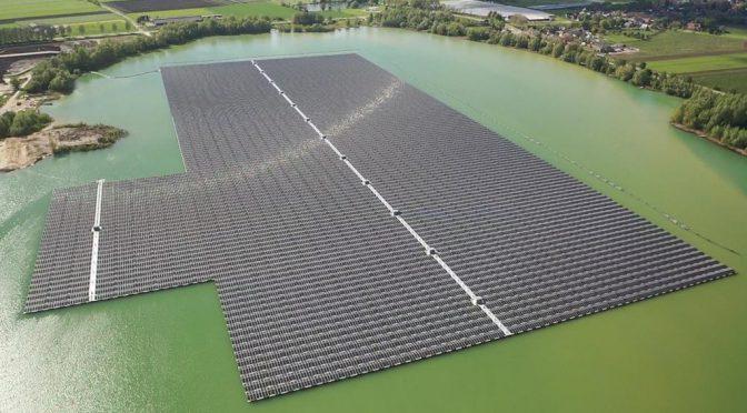 NP BayWa r.e. pone en marcha los dos mayores parques fotovoltaicos flotantes fuera de Asia