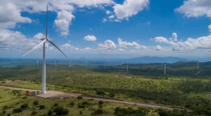 eólica Kipeto de 100 MW terminada en Kenia