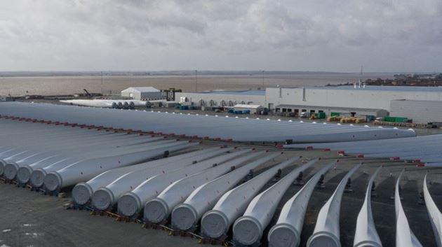 Siemens Gamesa refuerza su liderazgo en la eólica del Reino Unido con la ampliación de su planta de palas offshore