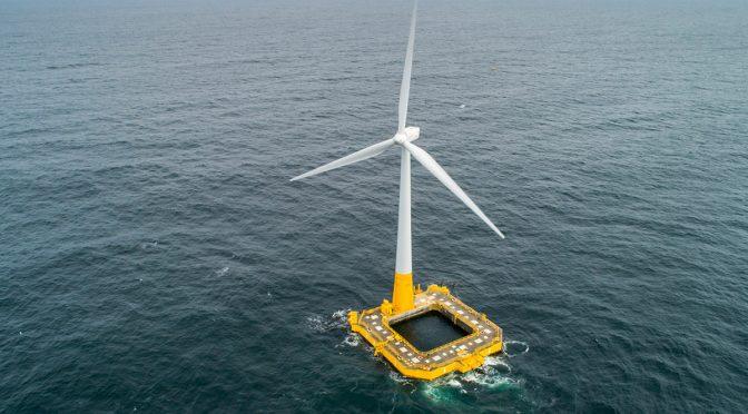 La energía eólica marina española alcanza un hito clave