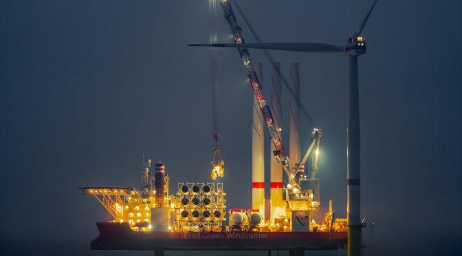 La energía eólica marina continúa rompiendo nuevos límites