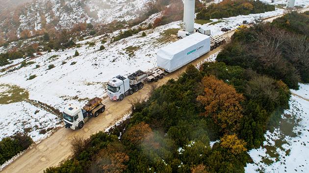 La plataforma eólica 5.X de Siemens Gamesa consigue un nuevo pedido de 242 MW en Suecia