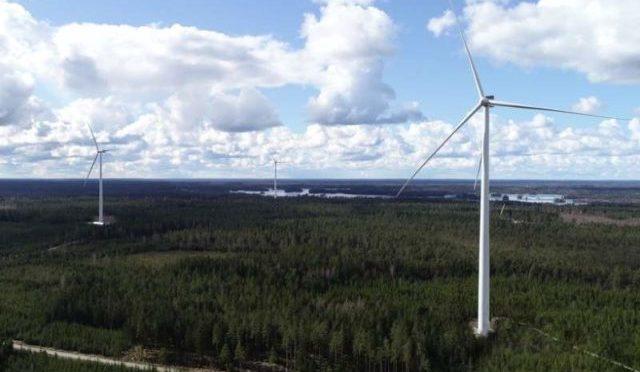 BayWa pone en marcha su central eólica más grande de Europa