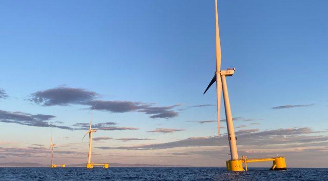 Windfloat Atlantic alcanza los 75 GWh en su primer año de operación