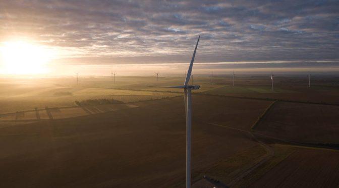 RWE pone en marcha su primer parque eólico terrestre en Francia