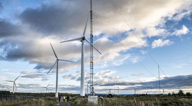 Palas eólicas de aerogeneradores en tejido, una nueva frontera