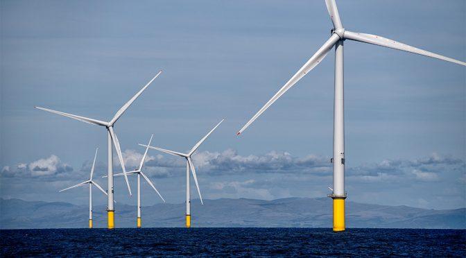 Los ministros se reúnen para discutir la energía eólica marina en el Mar del Norte